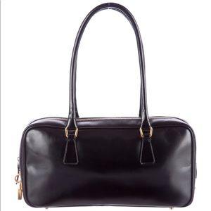 Prada Vitello Box Handbag